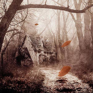 Spooky Scenes Canvas Prints