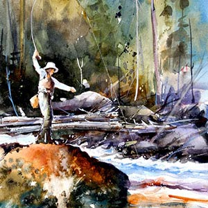 Fishing Canvas Artwork