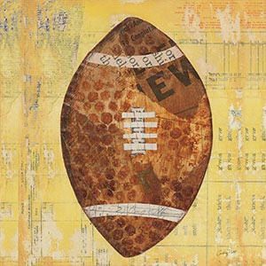 Football Canvas Art Prints