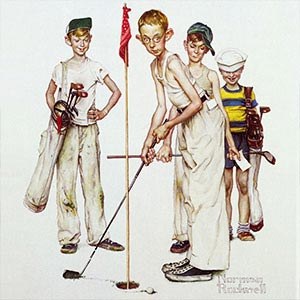 Golf Canvas Art