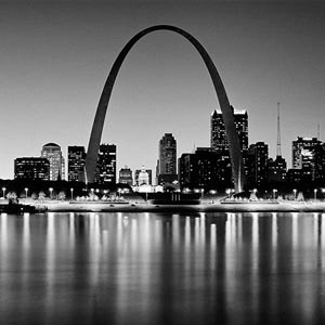 St. Louis Canvas Art Prints