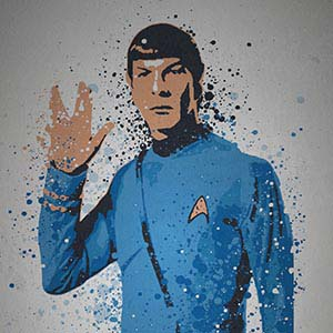 Star Trek Art Prints