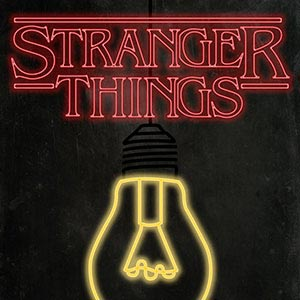 Stranger Things Canvas Artwork