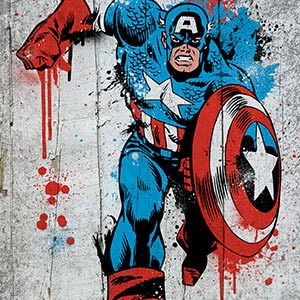 Superheroes Canvas Art
