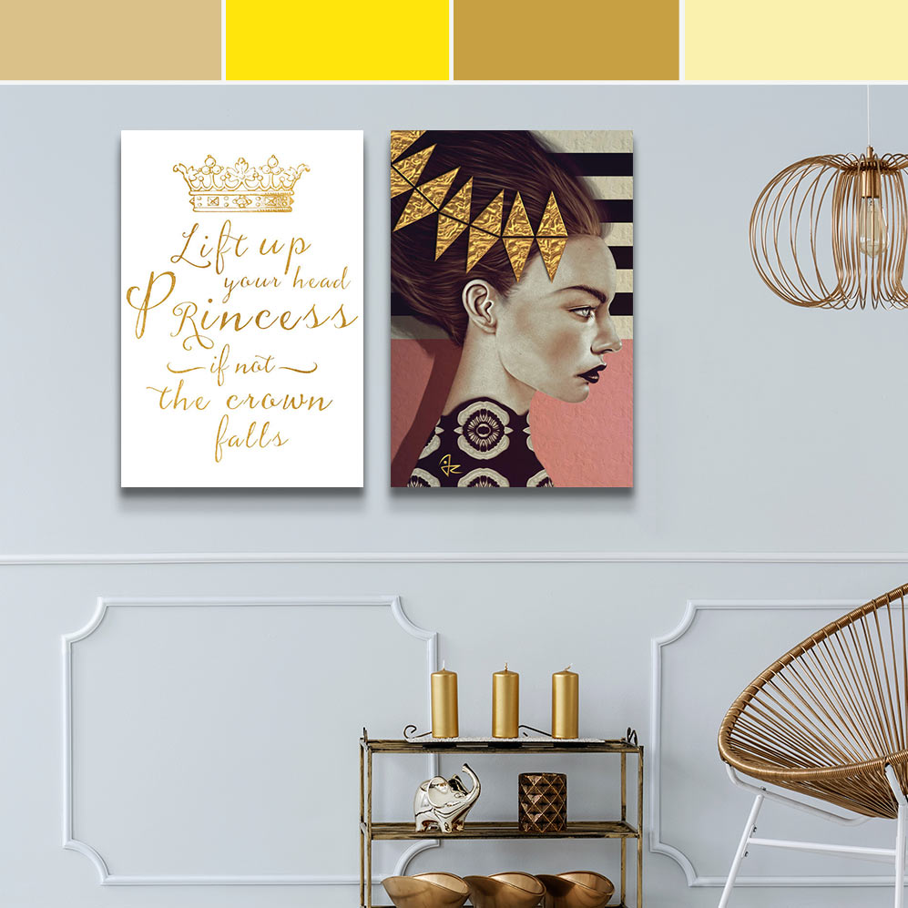 Leo Colors Canvas Prints