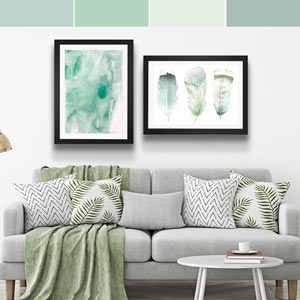 Pisces Colors Art Prints
