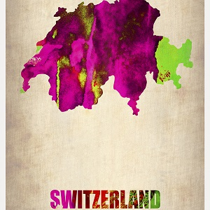 Switzerland Canvas Artwork