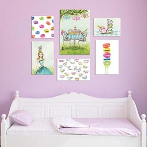 Tea Party Canvas Prints
