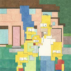 The Simpsons Art Prints