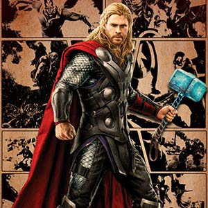 Thor Canvas Art