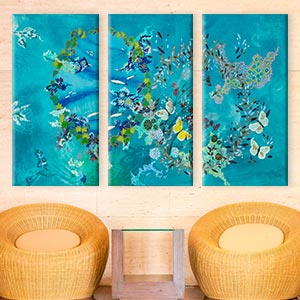 3-Piece Abstract Art Prints