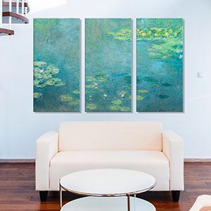 3-Piece Vintage; 3-Piece Fine Art Canvas Wall Art