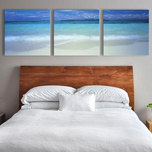 3-Piece Panoramic Canvas Art
