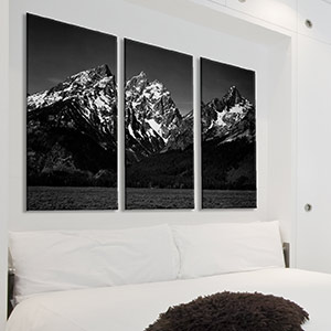 3-Piece Photography Canvas Art Prints