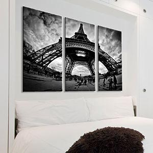 3-Piece Photography Canvas Wall Art