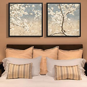 Home Staging Bedroom Canvas Art