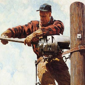 Tradesman Canvas Art Prints