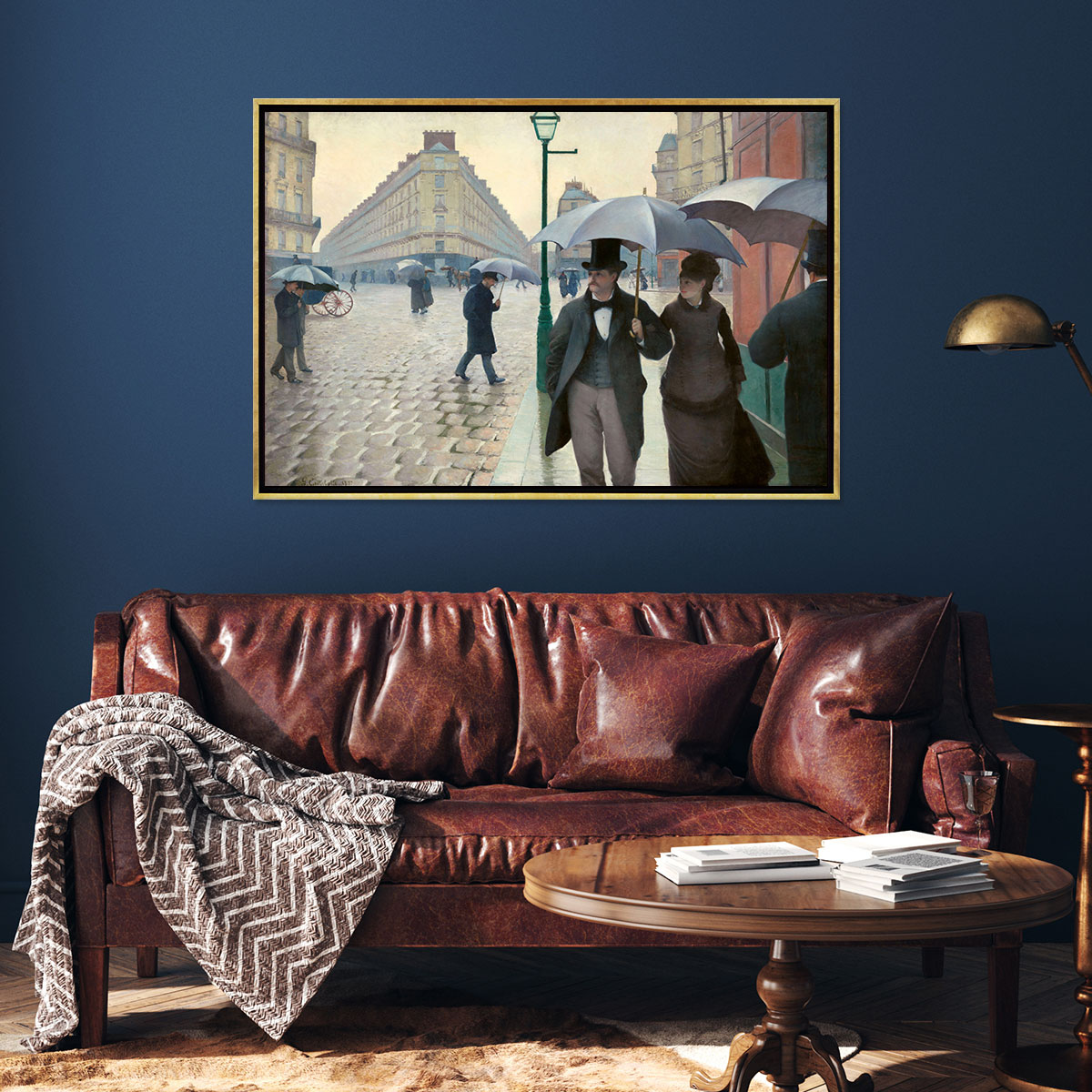 Traditional Living Room Canvas Artwork