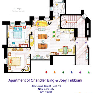 TV Floorplans & More Art Prints