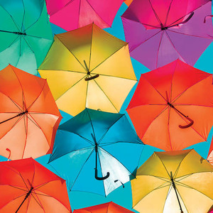 Umbrellas Art Prints