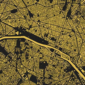 Urbanmap Art Prints