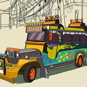 Vehicles of the World Canvas Art Prints