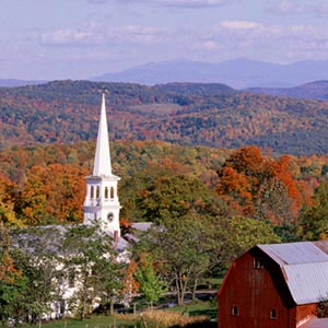 Vermont Canvas Prints