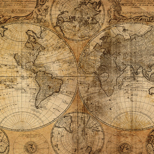 Antique Maps Canvas Prints