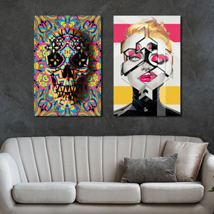 Vivid Graphics Canvas Wall Art