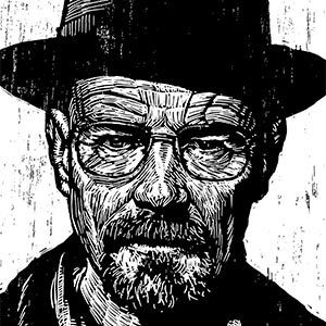 Walter White Canvas Art