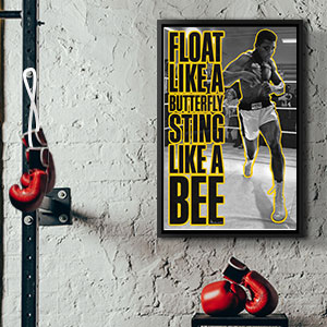 Gym Canvas Wall Art