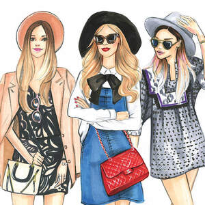 Fashion Canvas Art