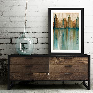 Wood & Metal Canvas Art Prints