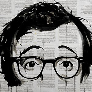 Woody Allen Canvas Wall Art