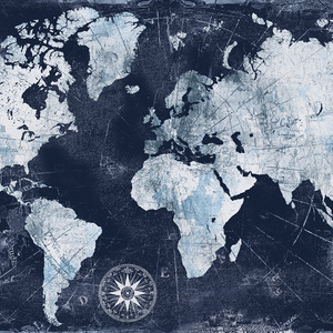 World Maps Canvas Artwork