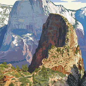 Zion National Park Canvas Prints