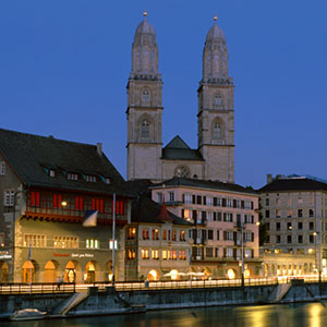 Zurich Canvas Art Prints