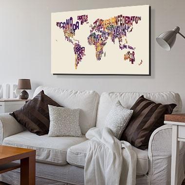 Cheap Canvas Prints Artwork On Sale ICanvas ICanvas - Decorative maps for sale
