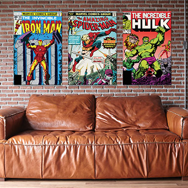 Marvel Comic Book Covers - Additional 10% Off