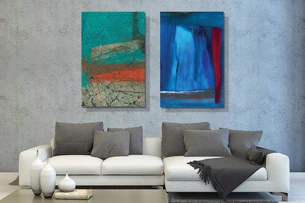 new funky art 2 days left mark rothko inspired mark rothko inspired - Cheap Canvas Wall Art