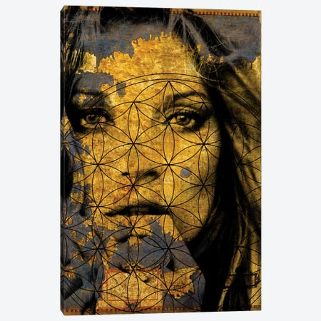 Golden Beauty Canvas Print #uvp6} by iCanvas Canvas Art